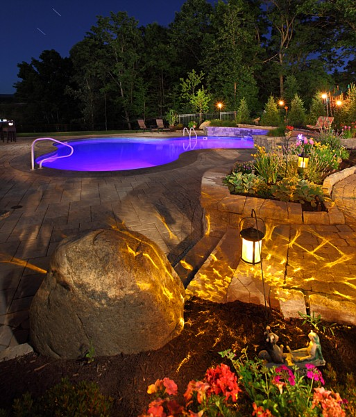 Landscape Enhancements & Landscape Lighting Outdoor Lighting | Schenectady Albany ...